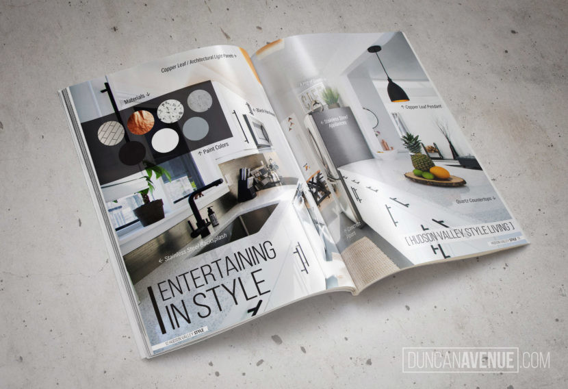 Hudson Valley Style Magazine Spring 2018 Preview – Duncan Avenue's Villa 9W - Photography and Design by Maxwell Alexander