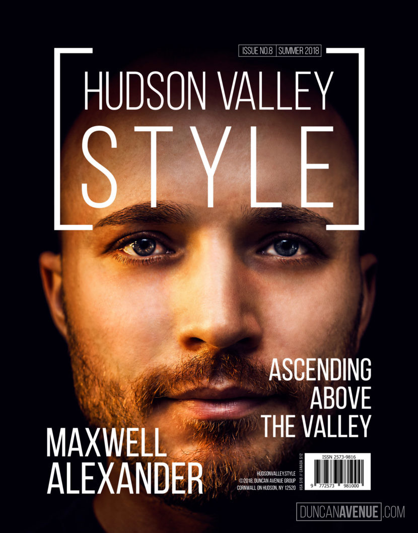 Hudson Valley Style Magazine Cover - Summer 2018 - Maxwell Alexander
