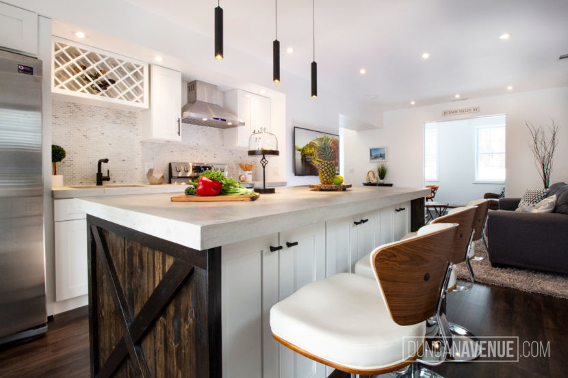 Interior Design and Renovation Project by Duncan Avenue Design Studio in Hudson Valley / Cornwall on Hudson, NY